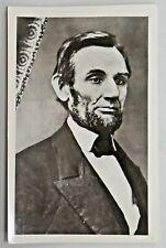 Vintage Abraham Lincoln Photo Postcard Unused Black and White Print 2996