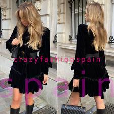 H&M NWT The Vampire's Wife x H&M Bow-detail velvet dress ALL SIZES 0923553001