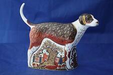 Royal Crown Derby Foxhound Pisapapeles mmviii-Nuevo / Caja