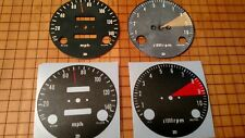 Honda CB750 750 Overlay Cafe Racer Gauge Face Decal Applique MPH Dial Clock