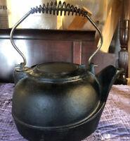 Cast Iron Vintage Tea Kettle