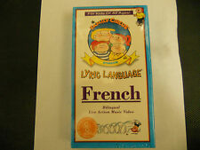 The Family Circus presents Lyric Language FRENCH Bilingual Live-Action Music VHS
