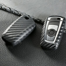 Silicon Carbon fiber Car Key Case Cover For BMW F10 F20 F30 328I 530I X3 X4 320I