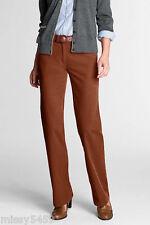 LAND'S END Women's Plus Brown  Colored Jeans Capri Cropped Pants Size 24W/P