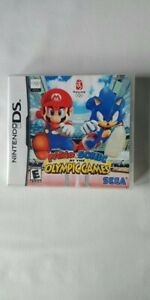 Mario & Sonic At The Olympic Games Nintendo DS Game By SEGA complete FREE...