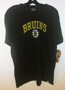 Boston Bruins 47 Brand Officially Licensed Men's T-Shirt NWT Size Small