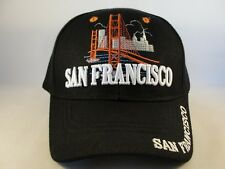 San Francisco Adjustable Strap Hat Cap Defect Missing Top Button