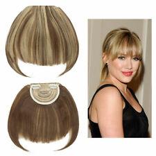 REECHO clip in hair bangs Dark Brown