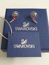 Swarovski orecchini originali fucsia