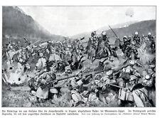 Polnische Legionäre kämpfen bei Maramaros-Sziget von Richard Assmann 1914