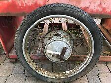 Jawa N20 50 Scooter Rear Wheel  AHRMA   Rim Hub Brake Plate  1971