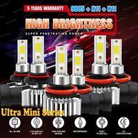 9005+H11+H11 LED Headlight Sets Hi//Lo+Fog Lights for Honda Accord 13-2015 5415W