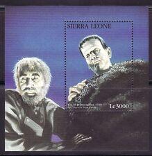 SELLOS  CINE. SIERRA LEONA 1997 FRANKENSTEIN 1939 BELA LUGOSI & BORIS KARLOFF