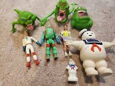 1986 Ghostbusters Action Figures MarshmallowMan Slimer Columbia Pictures Vintag