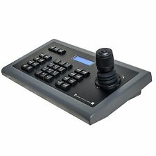 CCTV 4D IP PTZ controller keyboard Onvif metal case brand new free shipping