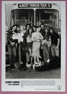 J111 Set of 6 Pressphotos ALMOST FAMOUS Patrick Fugit, Billy Crudup, Kate Hudson