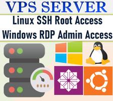 WINDOWS 10 RDP SERVER / VPS SERVER 2 GB RAM + 80 GB HDD