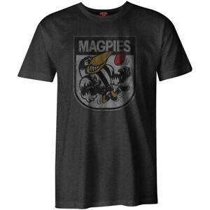 NEW Collingwood Magpies Mens 90's Retro Mascot Tee