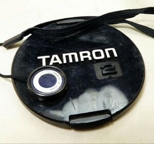 Tamron Adaptall 2 58mm snap on type Lens Front Cap Genuine