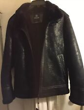Hudson Outerwear Men's Black Sherpa Jacket