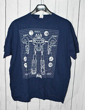 Navy Blue Power Rangers T-Shirt 2XL XXL Loot Crate