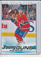 Ryan Poehling Canadiens 2019-20 Upper Deck Young Guns Rookie Card #226