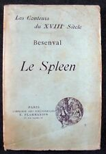 [B1839] Besenval, Le Spleen. Les amants soldats. Alonzo l'hermite
