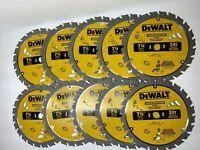 (10 PACK) 7 1/4 NEW More Powerful Framing Saw Carbide Circular Saw Blade DeWalt