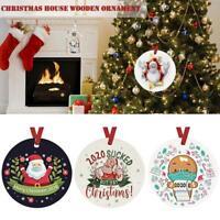 Weihnachtsanhänger Ornamente Frohe Weihnachten Baumdekoration Weihnachtsgeschenk