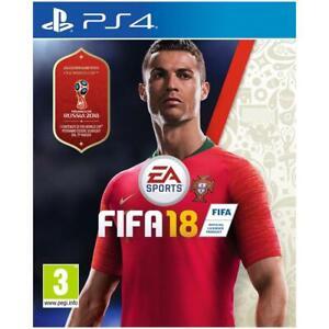 FIFA 18 2018 PS4 GIOCO NUOVO SIGILLATO ITALIANO PAL ITA ORIGINALE PLAYSTATION 4