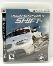 Need for Speed: Shift (Sony PlayStation 3, 2009) w/Manual
