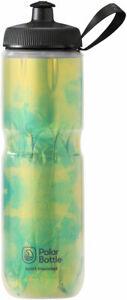 Polar Bottle Sport Insulated Fly Dye Water Bottle Lemon Lime BPA Free 24oz