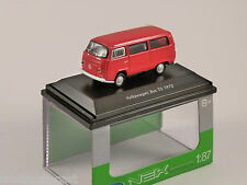 VOLKSWAGEN T2 BUS in Red 1/87 scale model WELLY