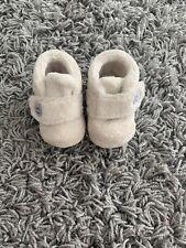 USED UGG BABY BIXBIE BOOTIES SIZE UK2 Age 6-12 Months