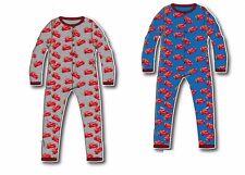 Cars Schlafanzug Einteiler 92 98 104 110 Junge Pyjama lang Disney Overall Winter