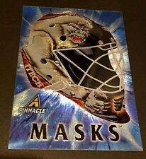 GARTH SNOW 1997-98 Pinnacle Hockey MASKS Foil PROMO Card Dufex #8 RARE Sample!!