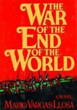 The War of the End of the World Vargas Llosa, Mario Hardcover