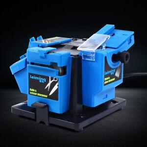 110V professional Electric Knife Sharpener Grinder Drill Sharpening Machine 96W