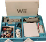 Nintendo Wii bundle all equipment original boxes 3 games all good condition Wii