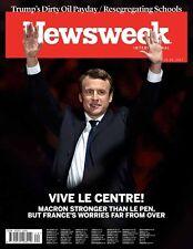 Newsweek Magazine Emmanuel Macron Jill Soloway NEW