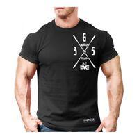 New Men's Monsta Clothing Fitness Gym T-shirt - 365 24/7