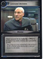 Star Trek TCG/CCG - 2nd Edition - Command Decisions #S17
