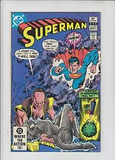 DC Comics Superman Comic No 375 - September 1982