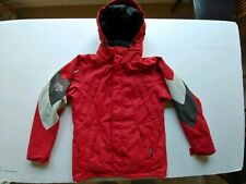 Volcom Thermonite Snowboard Coat 5000mm Red And Black Men's size Medium