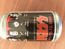 Kiss beer can (empty) 1996 highly collectible rare 14-15.12 1996 Praque concerts