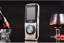 silver fashion 760 Unlock cell phone Quad Band Dual SIM luxury car model
