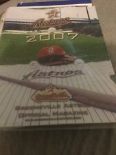 2007 Greeneville Astros Program Rare Defunct Minor League Team