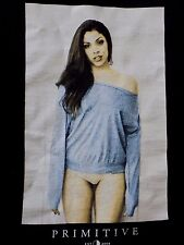 Org. Primitive Men's Crewneck Hot Chick T Shirt Black skate streetwear  Rare M