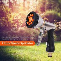 Garden Hose Nozzle Sprayer Water Car Washing Spray Gun with Pistol Grip Trigger