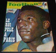 FOOTBALL MAGAZINE #135 1971 PELE BERETA MONACO FC METZ KERUZORE RAPID MENTON